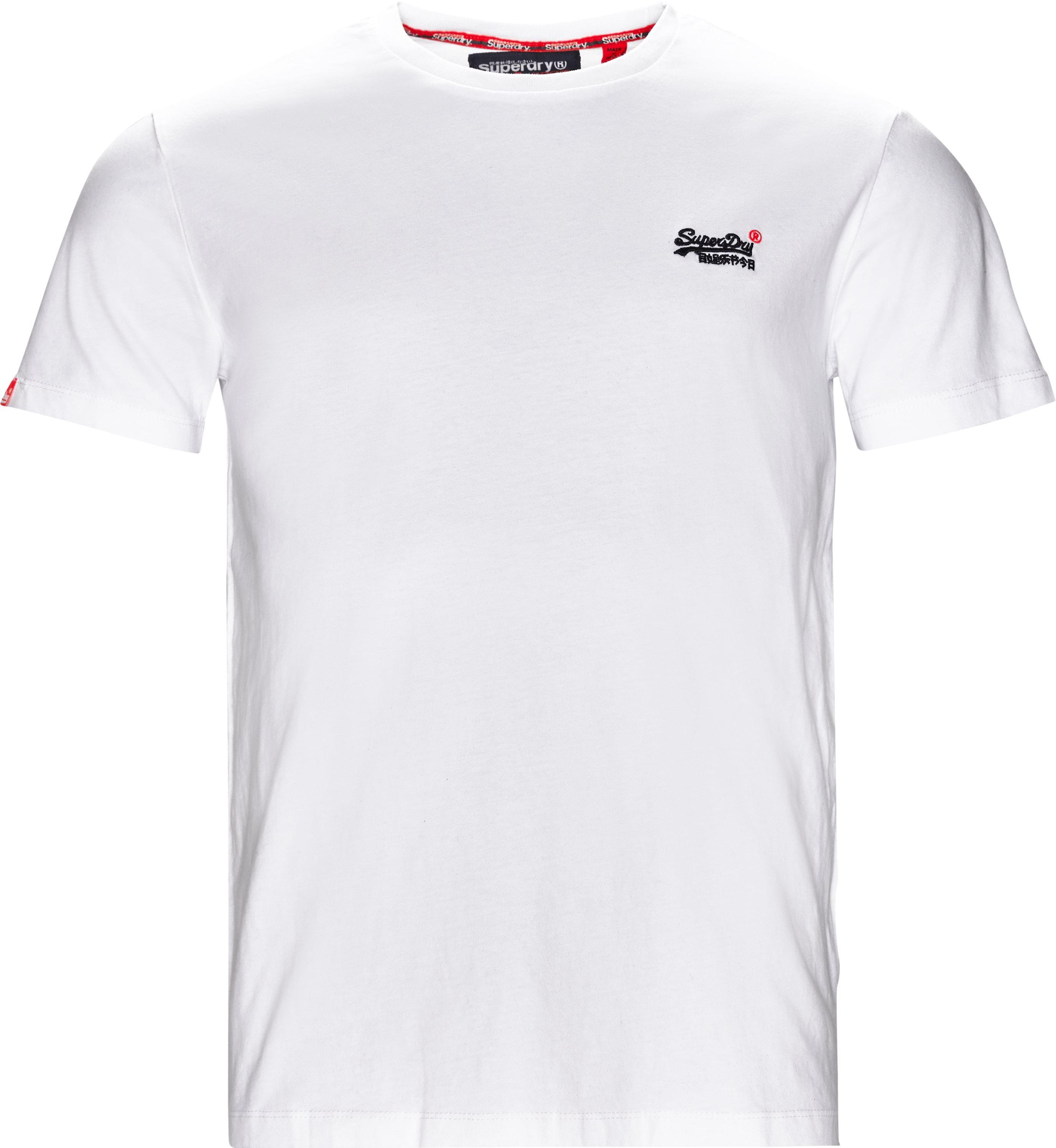 M101002 Tee - T-shirts - Regular fit - Hvid